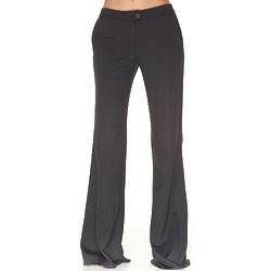 Emporio Armani Grey Rayon Trousers
