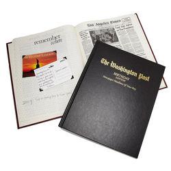 Washington Post or LA Times Birthday Newspaper Book