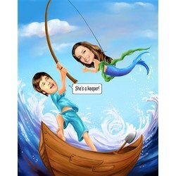 What a Catch! Caricature from Photos