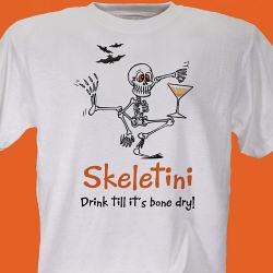 Skeletini Halloween T-Shirt