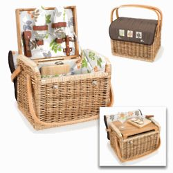 Picnic Wine Basket for 2