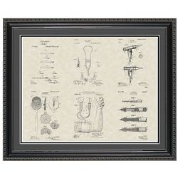 Medical Devices Patent Framed Print 20x24