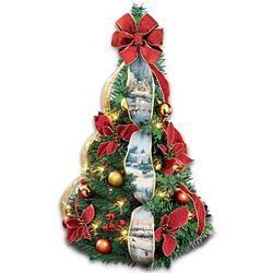 Thomas Kinkade Instant Christmas Tree
