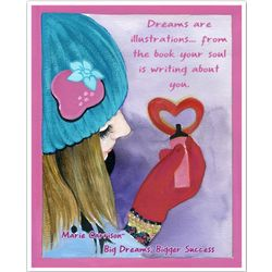 Dreaming About Love Personalized Print