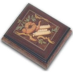 Torah Musical Jewelry Box