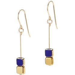 Hanging Cube Earrings