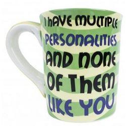 Pottery Ceramic Sarcastic Mug