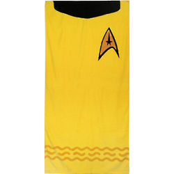 Kirk Gold Star Trek Bath Towel