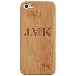 Personalized Bamboo iPhone 5 Cell Phone Case