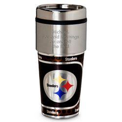 Personalized Pittsburgh Steelers Metallic Tumbler