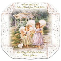 Dona Gelsinger's Sisters Love Forever Collector Plate