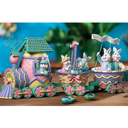 Resin Easter Train