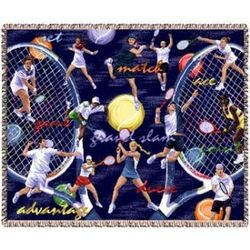 Ultimate Tennis Tapestry Throw
