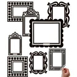 Removable and Reusable Picture Frames