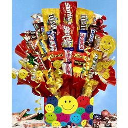 All Smiles Candy Bouquet in Medium
