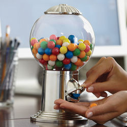 The Classy Way to Dole Out Snacks Gumball Machine