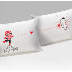Captured By Your Love His & Hers Matching Couple Pillowcases