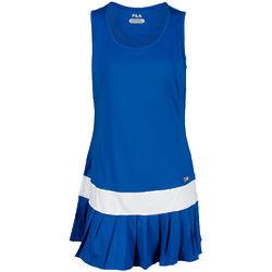 Women's Blue Night Heritage Pleated Tennis Dress