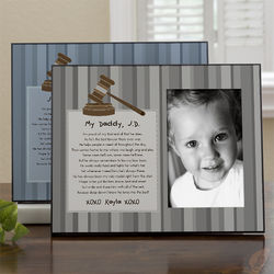 My Daddy Legal Professional Personalized Photo Frame