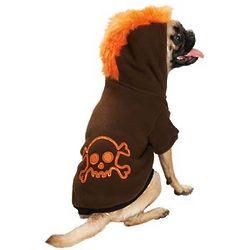 Halloween Mohawk Hoodie Dog Costume