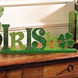 Irish Tabletop Sign