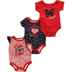 Girl's Enyce Patriotic American Infant Bodysuits