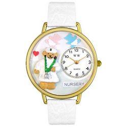 Nurse Teddy Bear Miniatures Watch