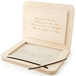 Be Still Custom Meditation Sand Box