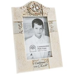 Confirmation Dove and Branches 4x6 Photo Frame