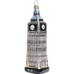 Big Ben Glass Ornament