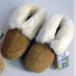 Children's Lambskin Slippers