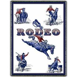 Personalized Rodeo Event Afghan