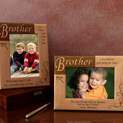 Personalized You are a Friend Wooden Picture Frame