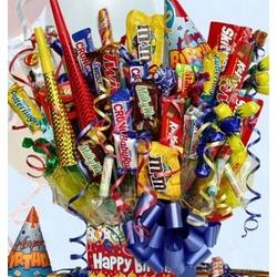 Birthday Blast Candy Bouquet in Medium