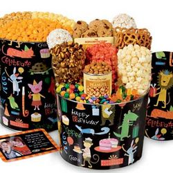 Two Gallon Birthday Popcorn Tin