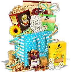 Mother's Day Sweets and Snacks Gift Tote