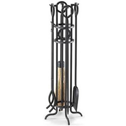 Steel Fireplace Accessories Set