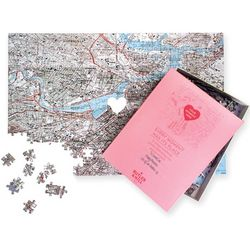 Where We Met Personalized Jigsaw Puzzle