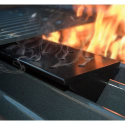 Gas Grill V-Shaped Nonstick Smoker Box