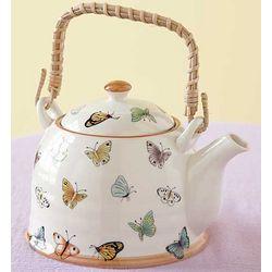 Mariposa Porcelain Teapot