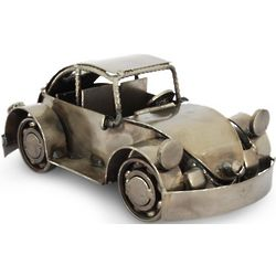 Rustic Vintage Car Recycled Auto Parts Sculpture