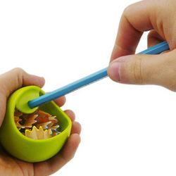 Rubber Orb Pencil Sharpener