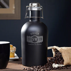 Marquee Personalized Stainless Steel Coffee Carafe