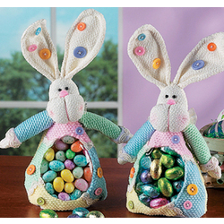 Fabric Bunny Candy Bag