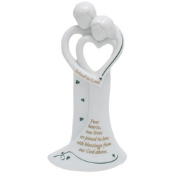 Irish Wedding Bell Figurine