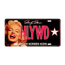 Marilyn Monroe License Plate
