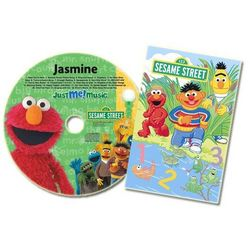 Personalized Elmo CD and Book Set