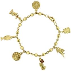 Sacred Symbols Charm Bracelet