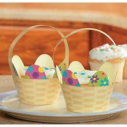 Easter Basket Cupcake Collars