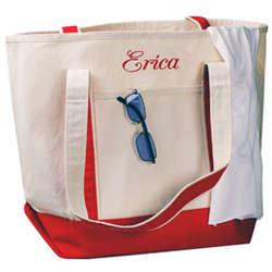 Large Canvas Bridal Tote Bag